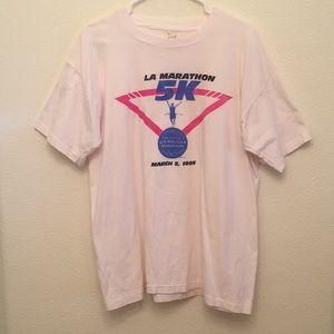 Vintage LA Marathon Tee 1995
